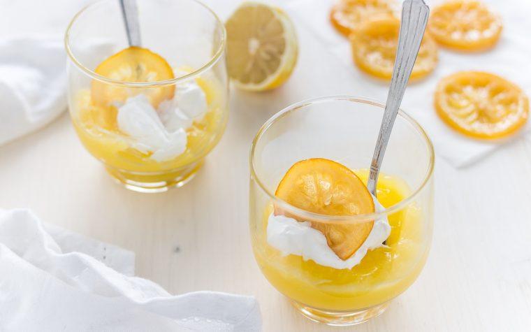 Crema inglese al limone