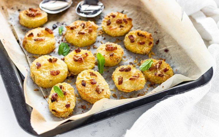 Patate sabbiose con pancetta