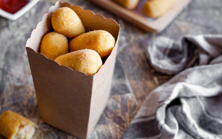 Crocchette di patate con mortadella e provolone