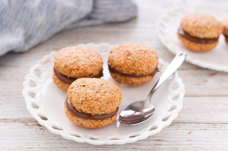 Biscotti alle mandorle e nutella
