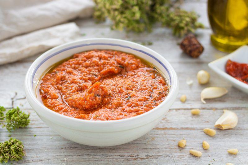 Pesto di pomodorini secchi