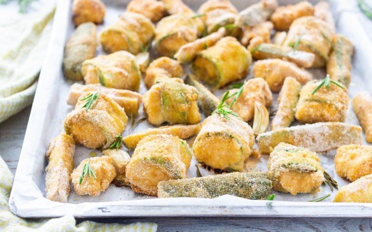 Involtini di pollo con zucchine sabbiosi