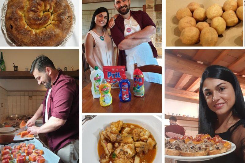 Social dinner con Giallo Zafferano, Pril e Nelsen