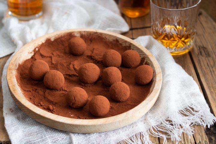 Tartufin al cioccolato