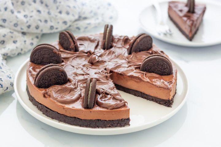Cheesecake Oreo e Nutella