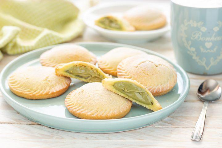 Biscotti alla crema di pistacchio