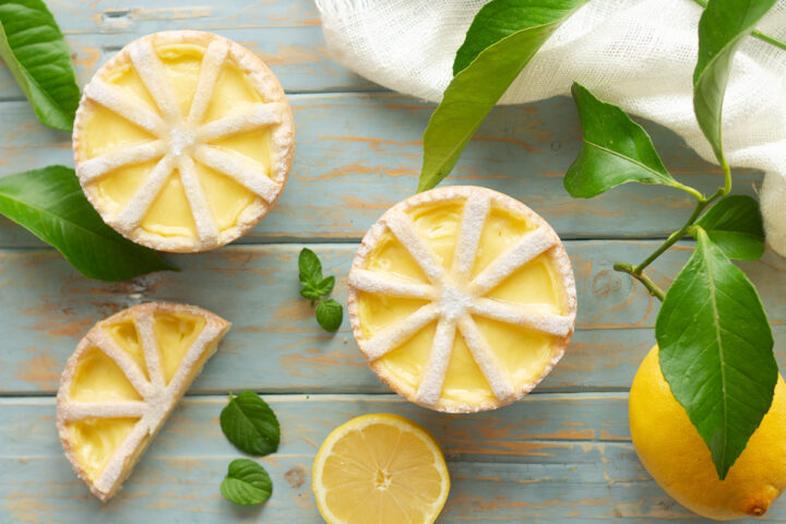 Crostatine al limone