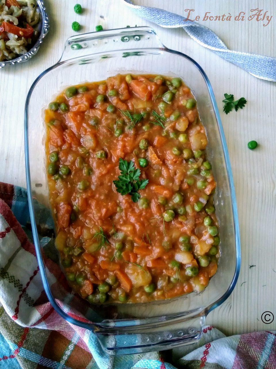 Stufato di legumi e verdure