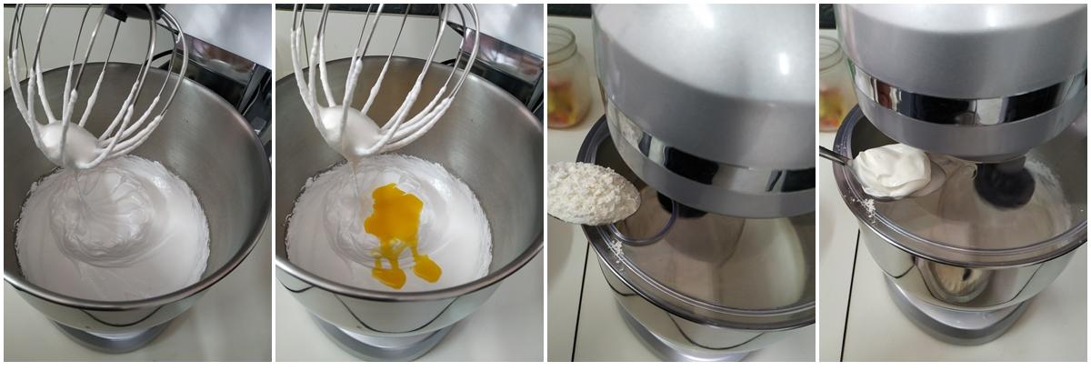 preparazione plumcake