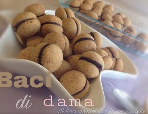 BACI  DI  DAMA   – Piemonte