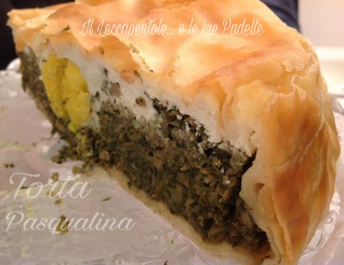 TORTA  PASQUALINA- Liguria-