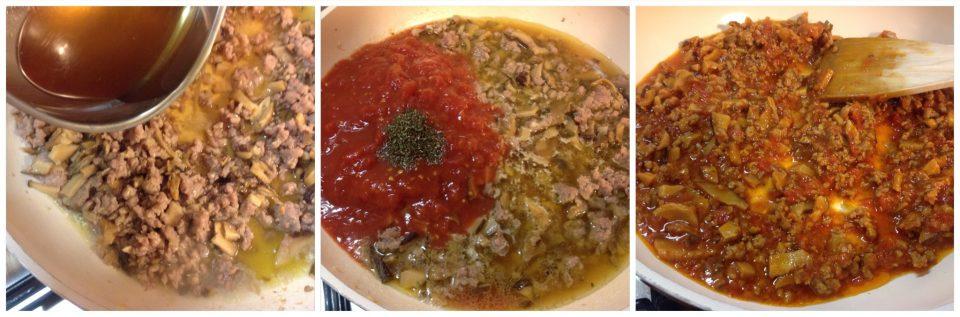 sugo con salsiccia e funghi porcini secchi foto 3- 25