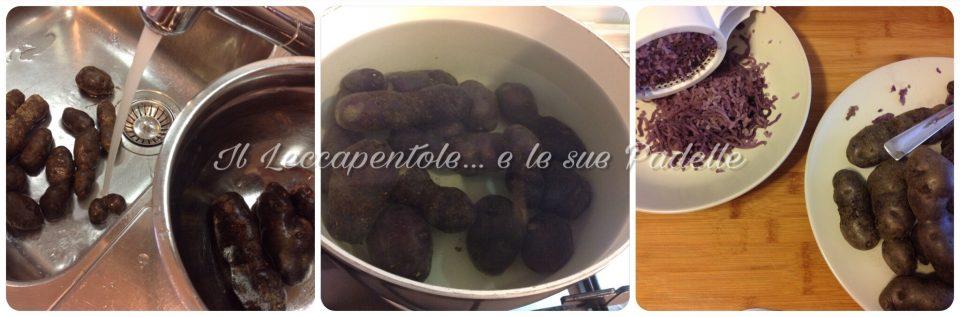 gnocchi di patate viola pass 1 img 2521