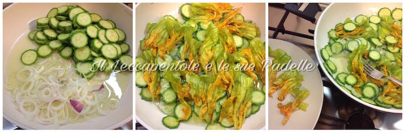 quiche di zucchine pass 1