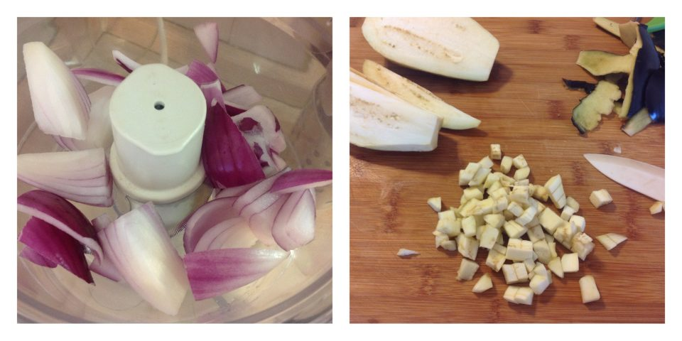 rigatoni con ragù di verdure al crudo e polpette 2