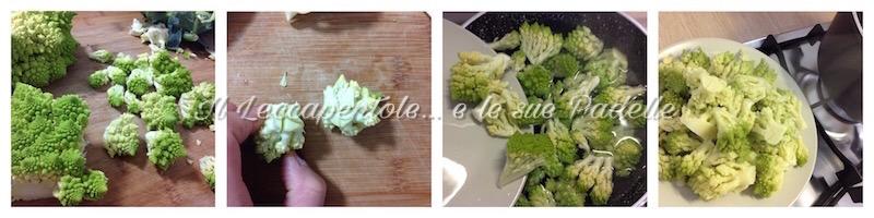 calamarata cacio uova e cavolo romanesco pass 1