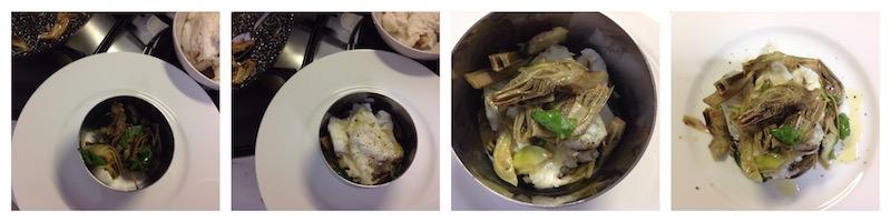 insalata tiepida e rana pescatrice 4