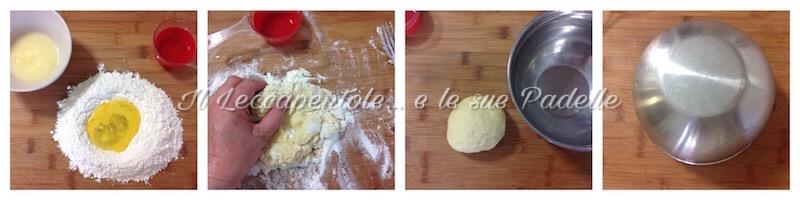 strudel di bietolepistacchi e crema al gorgonzola pass 1