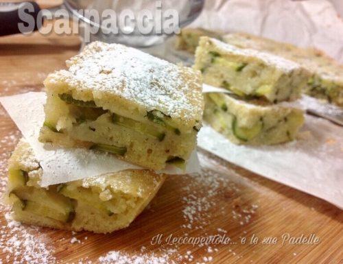 SCARPACCIA      ( torta dolce di zucchini )