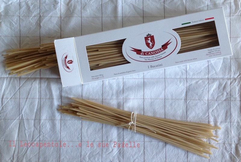 BUCAtini pasta canossa