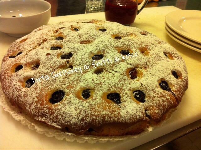 Torta Gressoney ai frutti di bosco