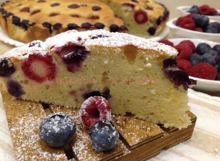 TORTA GRESSONEY AI FRUTTI DI BOSCO