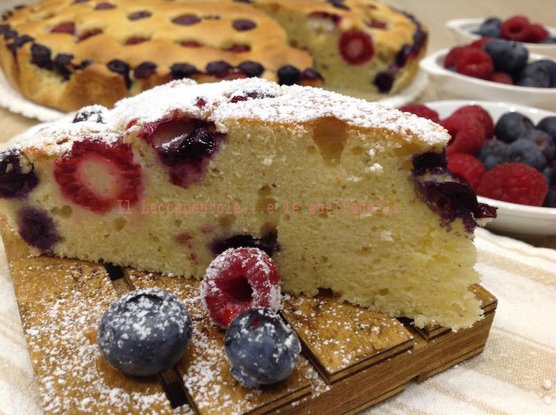 torta gressoney ai frutti bosco foto 1