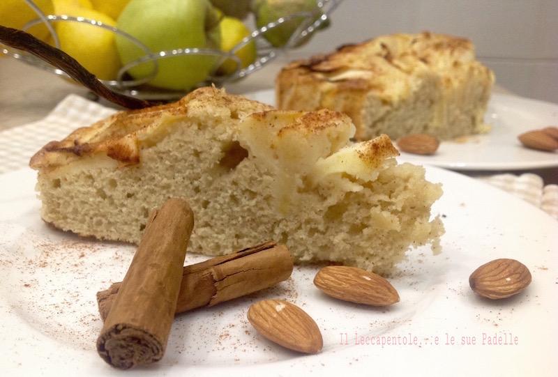 Torta di mele e mandorle il leccapentole e le sue padelle - Immagini stampabili di mele ...