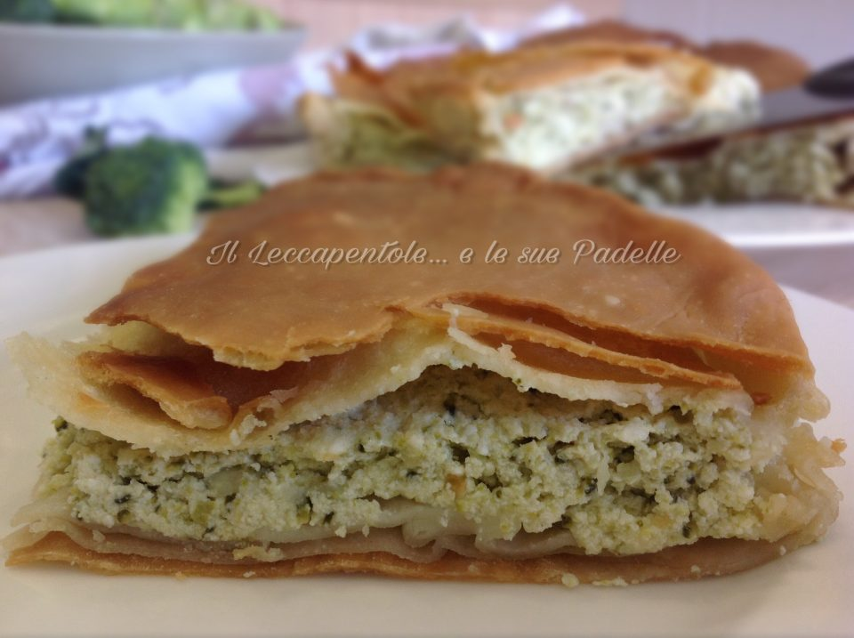 torta sfogliata di broccoli foto blog 2
