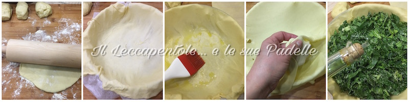 torta pasqualina con bietole pass 2