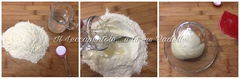 pasta fresca senza uova pass principale - impasto