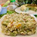 risotto con torta alle verdure - foto blog- instagram - twitter