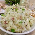 risotto con canocchie e pancetta foto blog 1