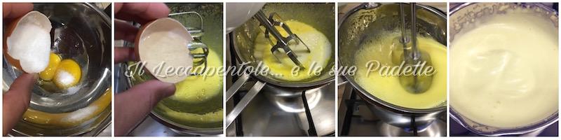 CREMA ZABAIONE AL MOSCATO - TORTA DI NOCCIOLE