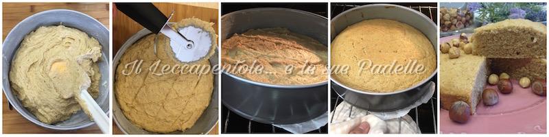TORTA DI NOCCIOLE PASS 2