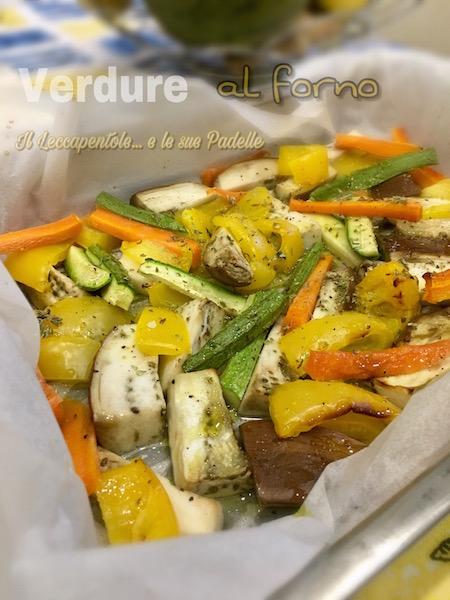 verdure al forno foto blog