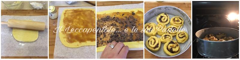 TORTA DI ROSE CON CREMA NOCCIOLA AL MIELE E CIOCCOLATO PASS 2