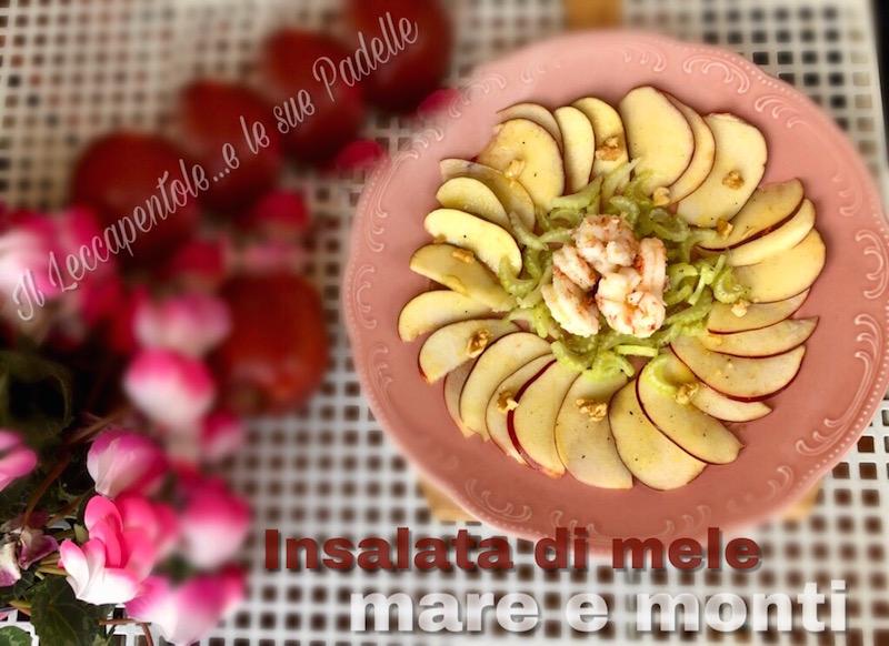 insalata di mele mare e monti foto blog 2
