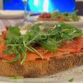 bruschetta cremosa al salmone foto blog