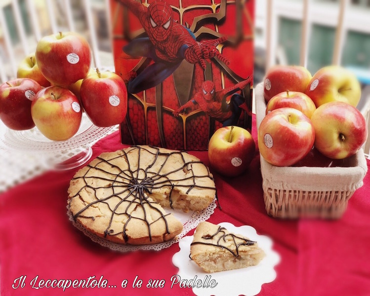 Ambrosia Apple pie - la torta di Spiderman