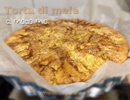 TORTA DI MELE A MODO MIO