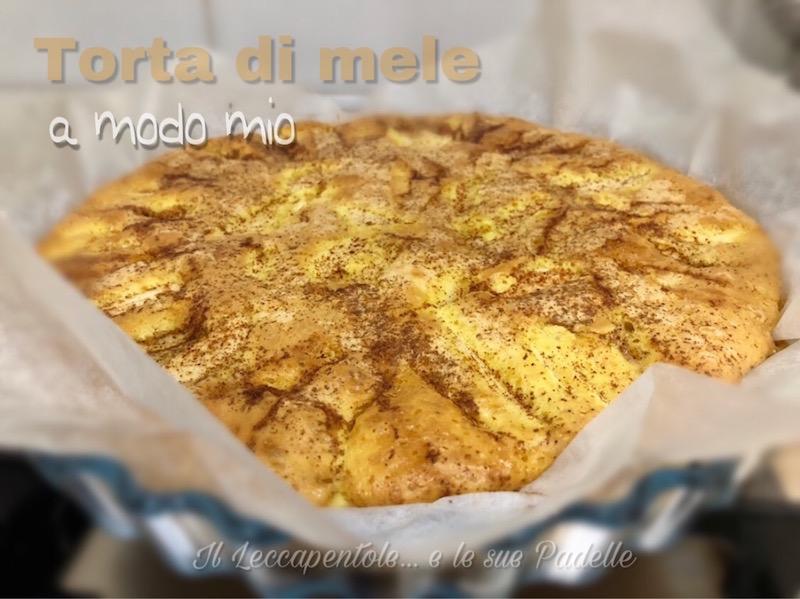 torta di mele 1 foto blog