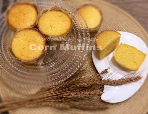 CORN MUFFINS  ( muffins di mais )