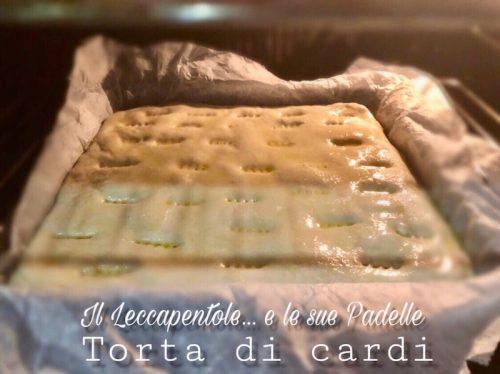 TORTA DI CARDI .. FORNO
