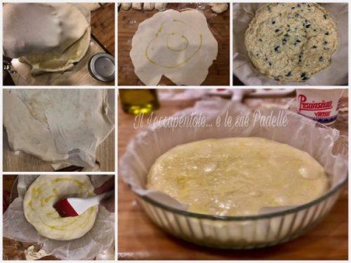 TORTA DI CIPOLLE E OLIVE NERE PASS 3