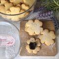 cookies con semola e pistacchi