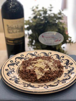 risotto al vino rosso