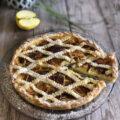 crostata di mele e crema foto 1 blog
