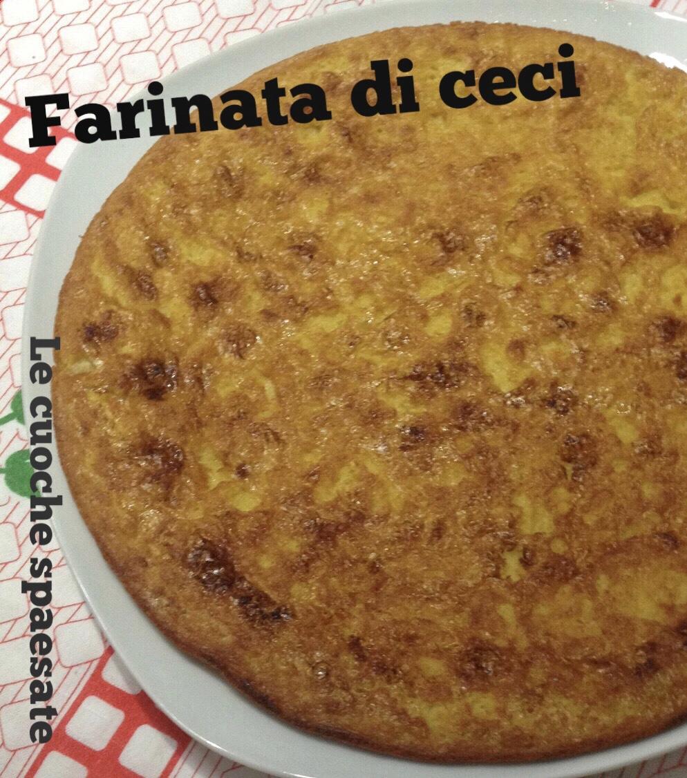 Ricetta Farinata Viva La Focaccia.Farinata Di Ceci Alla Genovese