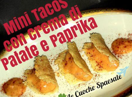 Mini Tacos con Crema di Patate e Paprika